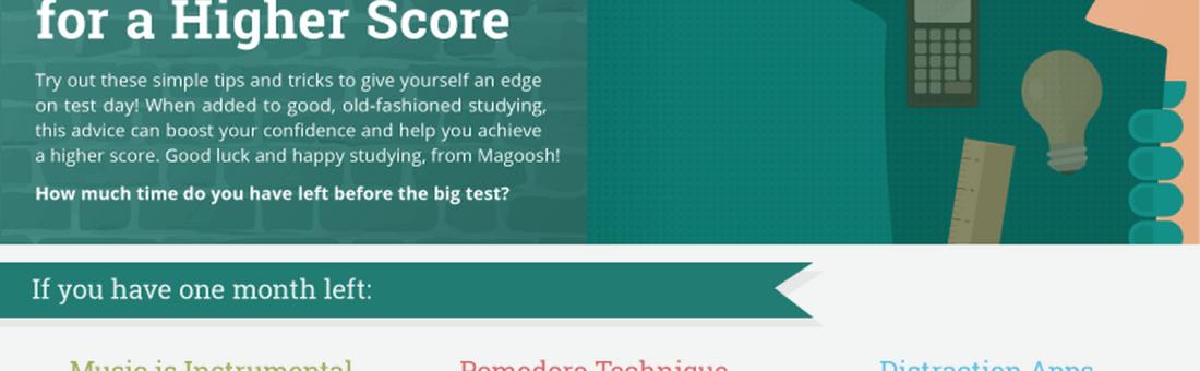 Exam Lifehacks: A Brand New Infographic from Magoosh