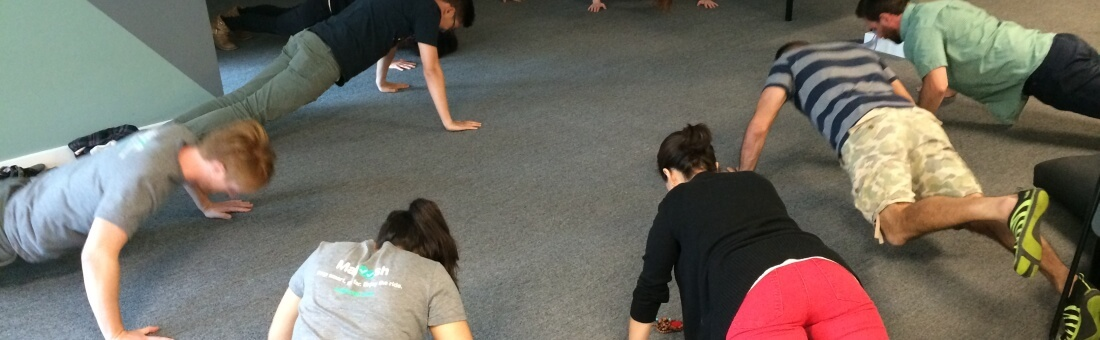 How the 100 Pushup Challenge Convinced Me That Test Prep Was the Right Career Choice
