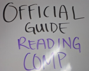 Official Guide to the GMAT Reading Comprehension