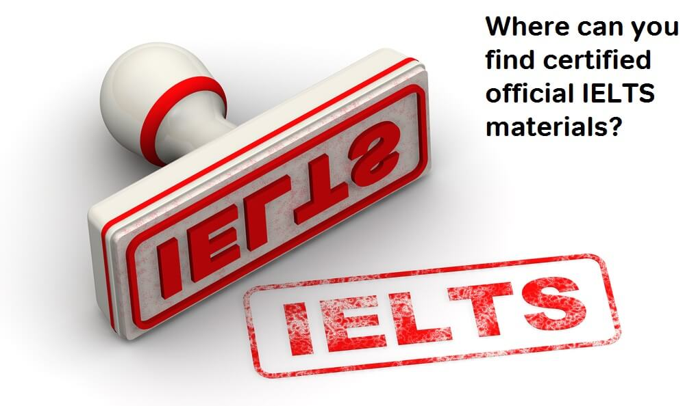 where can you get official IELTS prep materials