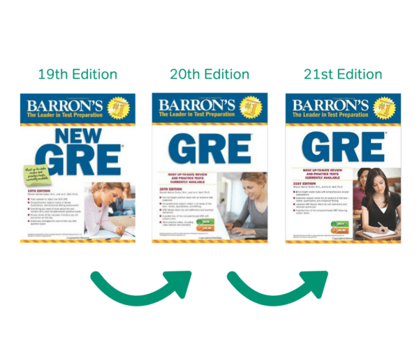 barron gre, barron's gre book review, barron's gre 21st edition