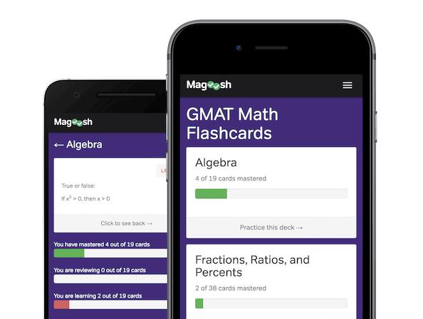 free magoosh gmat math flashcards