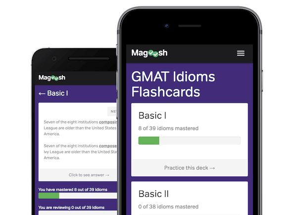 magoosh gmat idioms flashcards