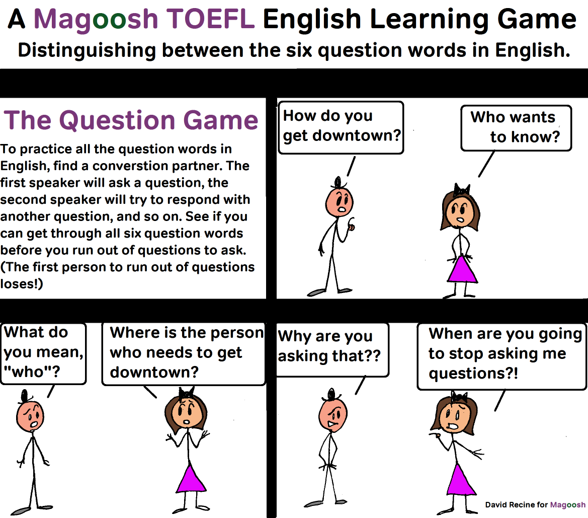 Mastering English question words