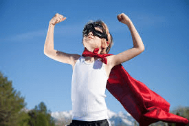 confidence superhero