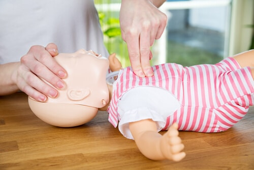 Infant CPR review NCLEX-RN