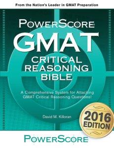 powerscore gmat critical reasoning bible book review