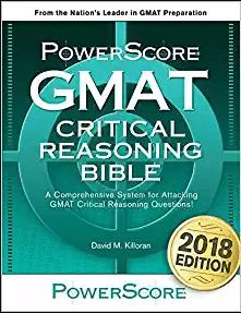 Powerscore GMAT Critical Reasoning Bible (Book Review)