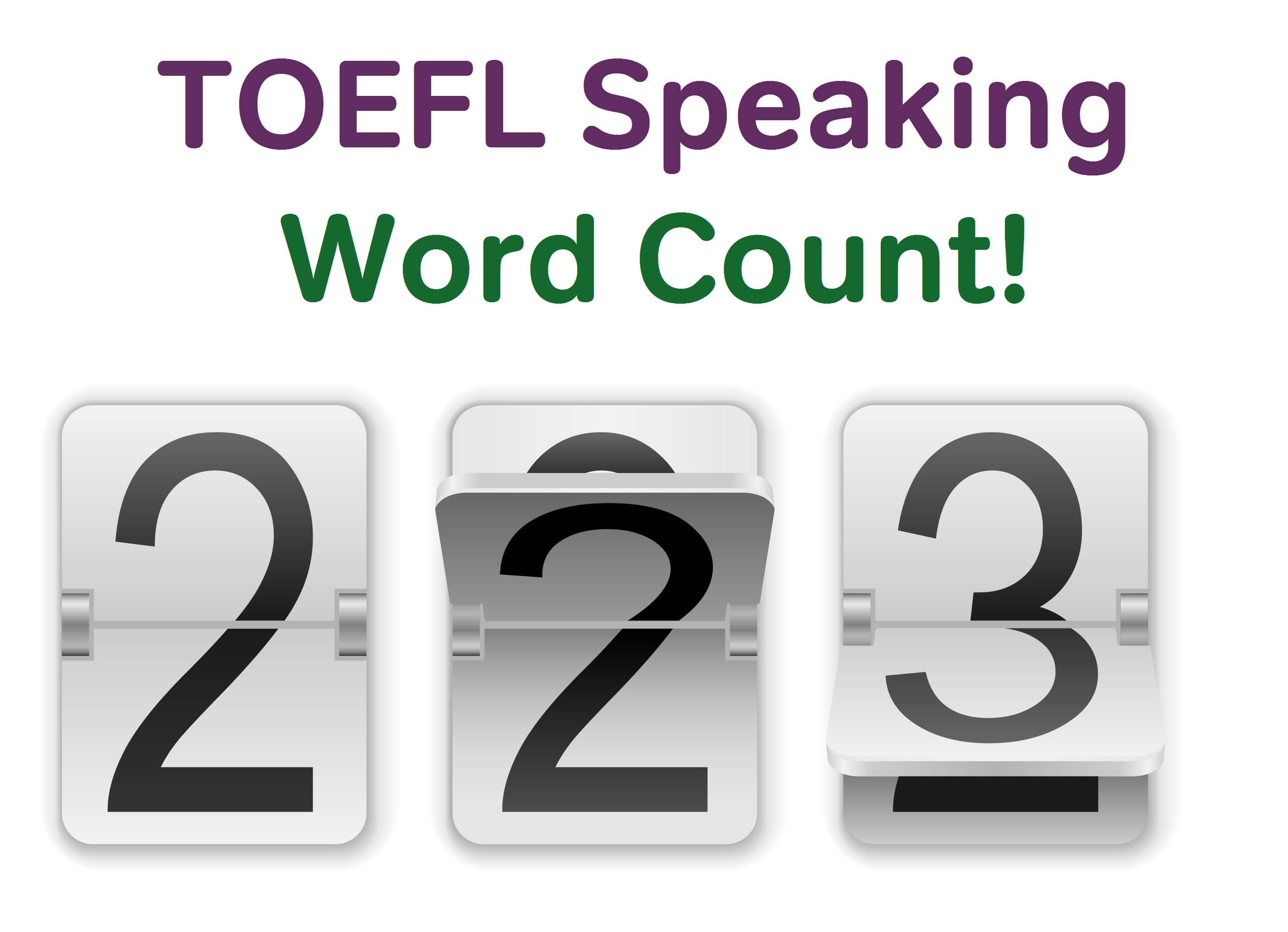 TOEFL Speaking Strategy: Aim for 100 Words - Magoosh TOEFL Blog