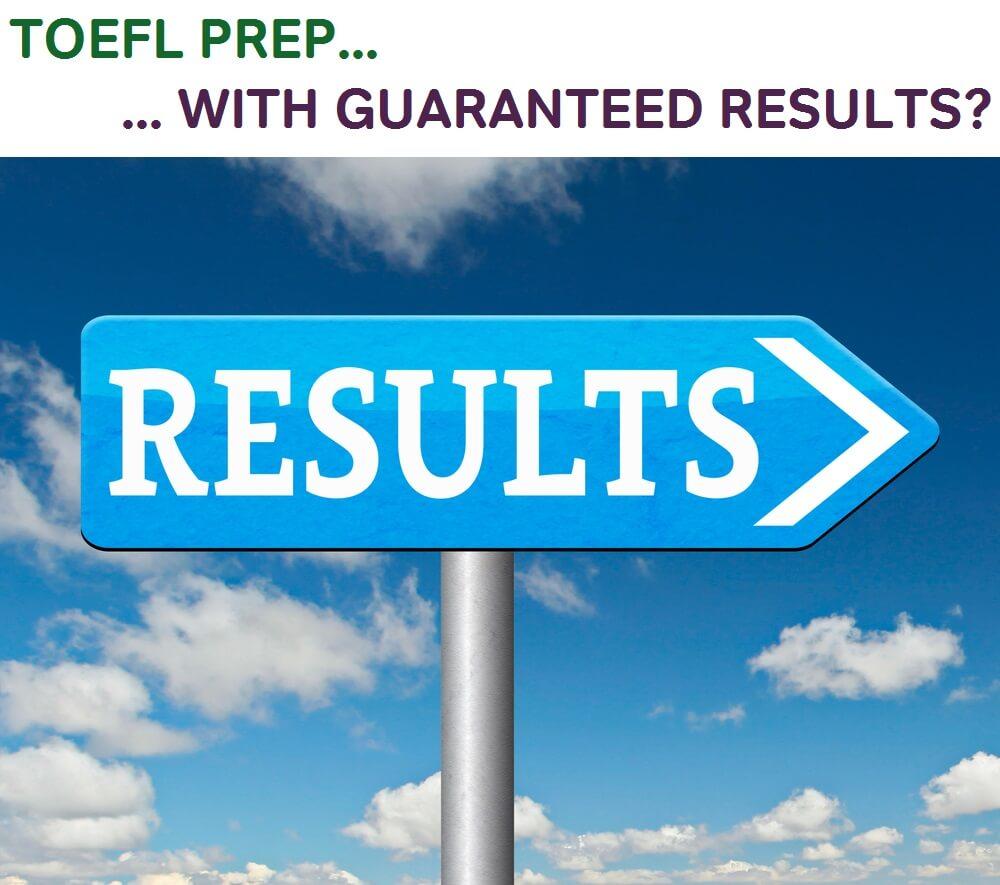 toefl score guarantee