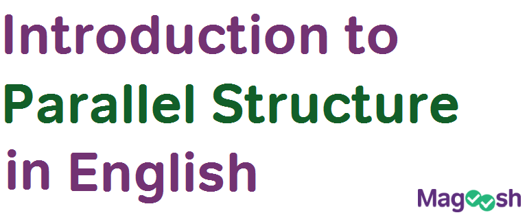 introduction to toefl parallel structure in English